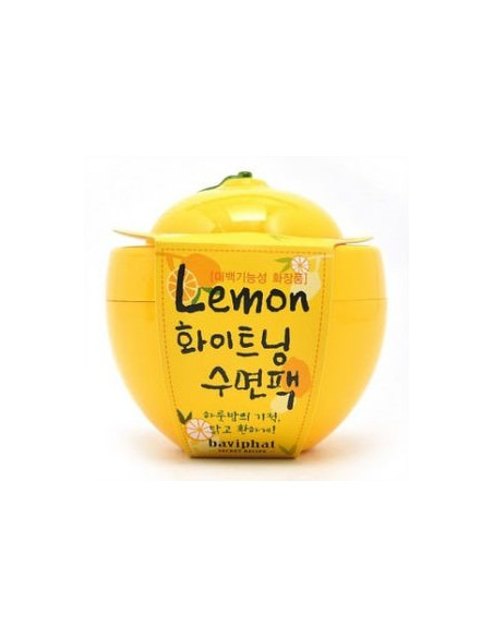 BAVIPHAT Soin masque de nuit Eclat Lemon Whitening Sleeping Pack 150ml