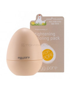 TONYMOLY Masque Anti-points noirs et Pores Dilatés Egg Pore Tightening Cooling Pack 30g