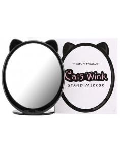TONYMOLY Miroir Oreilles de Chat Cat Wink Stand Mirror