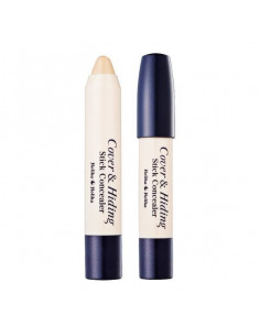HOLIKA HOLIKA Anti-cernes Cover & Hiding Stick Concealer 01 Light Beige