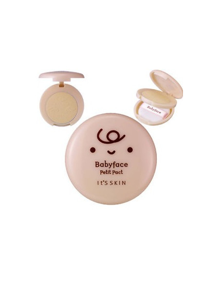 IT'S SKIN Poudre unifiante matifiante « Babyface petit pack » PF25 PA++ 5gr