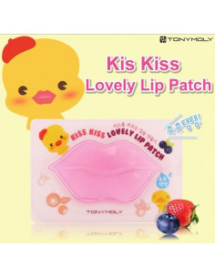 TONYMOLY Masque lèvres repulpant réparateur kiss kiss lovely lip patch
