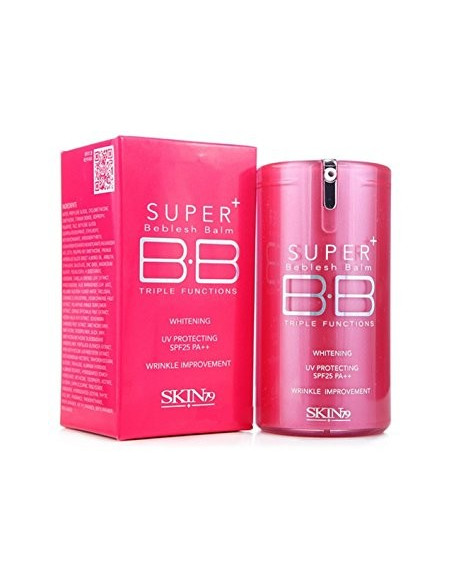 SKIN79-BB-Creme-visage-3-fonctions-Hot-Pink-Super-Plus-Beblesh-Balm-40g