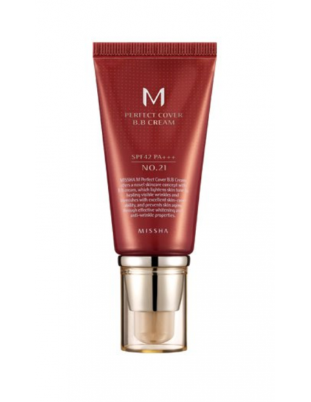 MISSHA Perfect Cover BB Cream SPF 42 PA+++ 50ml 21 Bright Beige