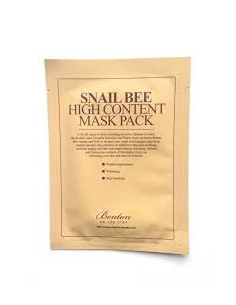 BENTON Masque au Sérum Snail Bee High Content Mask Pack à l'unité 20 gr