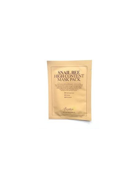 BENTON Masque Sérum Snail Bee High Content Mask Pack 20g