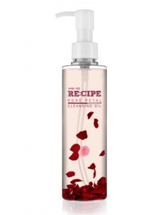 CARA RECIPE Huile démaquillante aux pétales de roses Rose Petal Cleansing Oil 200ml
