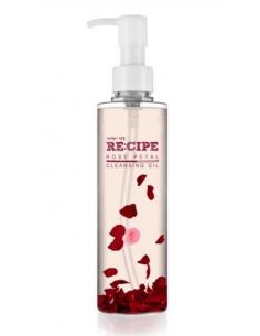 CARA RECIPE Huile démaquillante aux pétales de roses Rose Petal Cleansing Oil 200ml