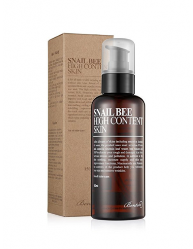 BENTON Tonique Anti-âge Anti-imperfections Snail Bee High Content Skin 150ml