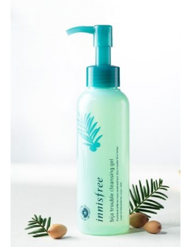 INNISFREE Nettoyant démaquillant anti-imperfections Bija Trouble Cleansing Gel 150 ml