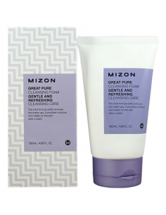 MIZON Nettoyant démaquillant Great Pure Cleansing foam 120 ml