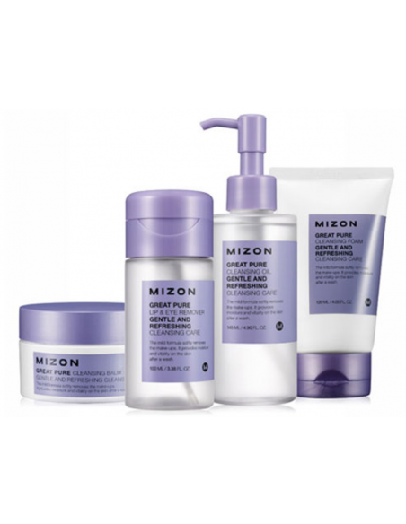 MIZON Gel Nettoyant Purifiant Hydratant Great Pure Cleansing Foam 120ml