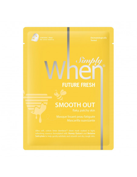 SIMPLY WHEN Masque Tissu Régénérant Future Fresh