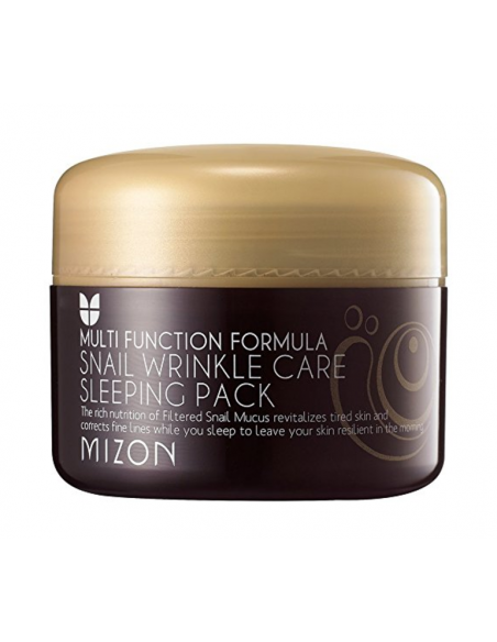 MIZON Anti-rides Anti-âge Snail Wrinkle Care Sleeping Pack 80ml