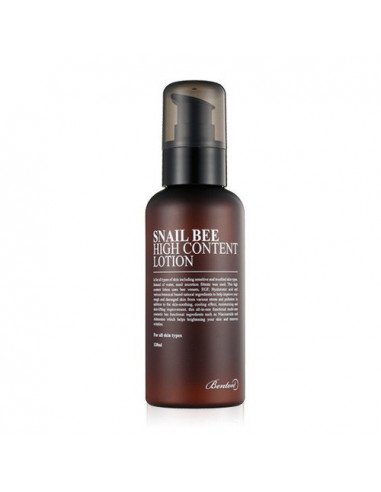 BENTON Crème Anti-imperfections Snail Bee High Content Lotion 120ml