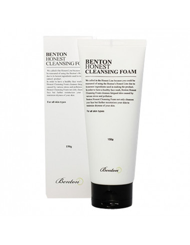 BENTON Nettoyant apaisant doux Honest Cleansing Foam 150ml