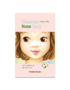 ETUDE HOUSE Patch anti-point noirs au thé vert « Greentea Nose Pack » à l'unité