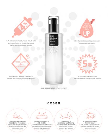 COSRX Sérum BHA Blackhead Power Liquid