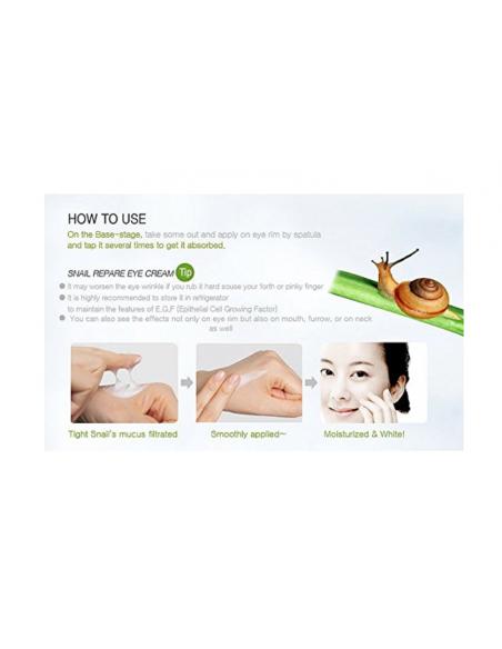 MIZON Crème Contour des Yeux Snail Repair Eye Cream Tube 15ml