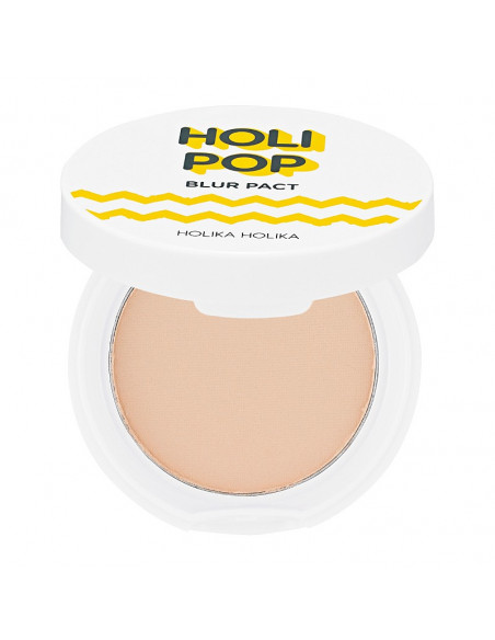 HOLIKA HOLIKA Poudre Protection Holi Pop Blur Pact 02 Natural Beige