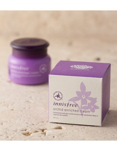 INNISFREE Soin Anti-âge Lissant et Restructurant Orchid enriched cream