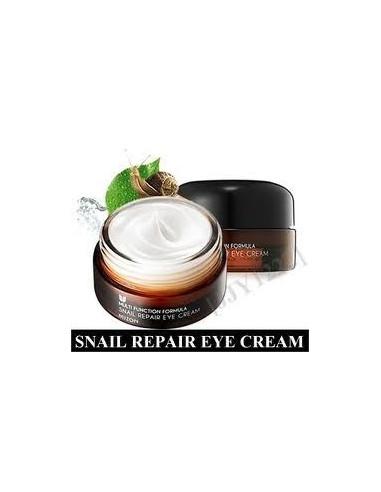 MIZON Crème contour des yeux lissant Anti-âge Snail Repair Eye Cream 25ml