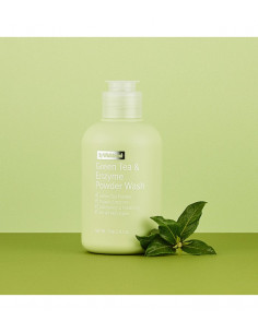 BY WISHTREND Poudre Nettoyante Exfoliant Doux Thé Vert Green Tea & Enzyme Powder Wash 70g
