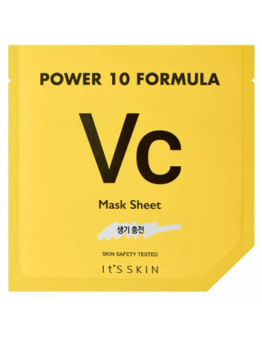 IT'S SKIN Masque Tissu Vitamine C Power Formula VC Tissu mask