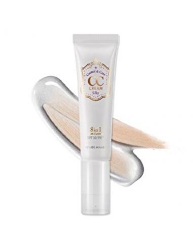 ETUDE HOUSE CC Crème correctrice visage Correct & Care CC Cream 8en1 version SILKY 35ml