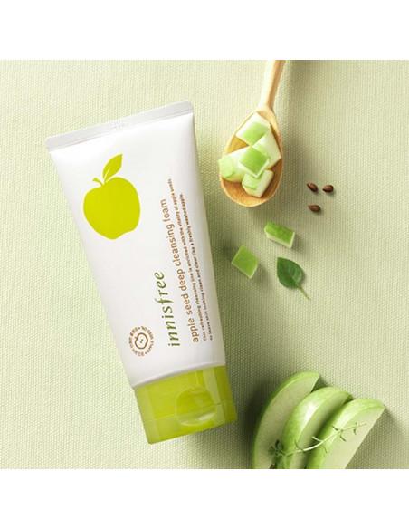 INNISFREE Crème Nettoyante Apple Seed Deep Cleansing Foam 150ml