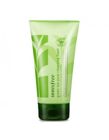INNISFREE Crème Nettoyante Green Tea Pure Cleansing Foam 150ml
