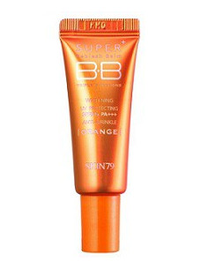 SKIN79 MINI BB cream Super+ Triple Functions Beblesh Balm Cream (Orange) - 7g