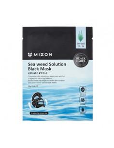 MIZON_masque_cendres_volcaniques_et_algues_seaweed_solution_black_mask