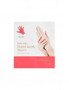 HOLIKA HOLIKA Masque Mains de Bébé Baby Silky Hand Mask Sheet
