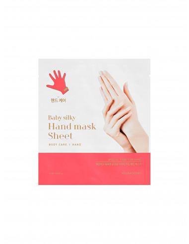 HOLIKA HOLIKA Masque Mains de Bébé Baby Silky Hand Mask Sheet 2x15ml