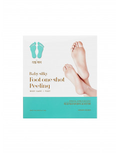 Holika Holika Peeling pieds de bébé en 7 jours Baby Silky Foot One Shot Peeling foot mask (20 ml x2)