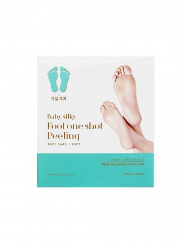 HOLIKA HOLIKA Gommage Pieds de Bébé Baby Silky Foot One Shot Peeling Foot Mask 2x20ml