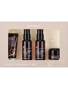 MIZON Set Essentiel Miniature Routine Escargot Extract 30ml/50ml/50ml/15ml
