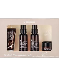 MIZON SNAIL MINIATURE SET  30ml/50ml/50ml/15ml