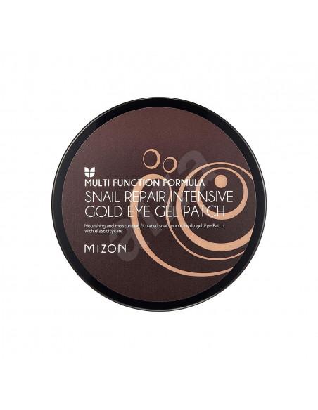 MIZON Patchs Contour des Yeux Escargot Extract Gold Snail Hydrogel Eye Gel Patch x60