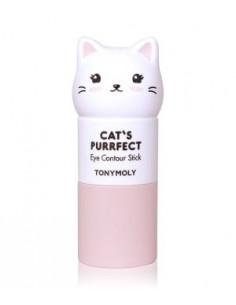 TONYMOLY Stick Contour des Yeux Réparateur Illuminateur Cat's Purrfect Eye Contour Stick 8g