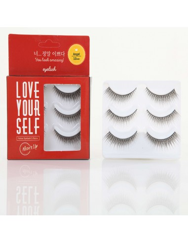 NOON'S UP Faux-cils Yeux de biche Eyelash 12mm Angel