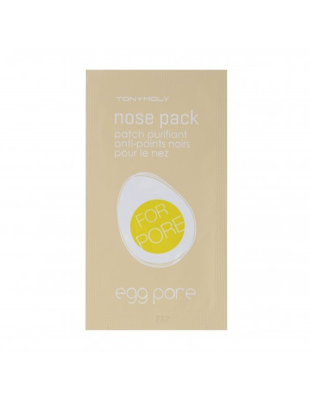 TONYMOLY Egg Pore Pack Package Anti-points noirs (7 patchs)