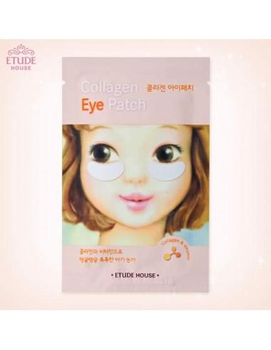 Etude House Masque yeux au collagène « Collagen Eye Patch » à l'unité 8 gr
