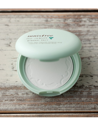 INNISFREE Poudre compacte anti-brillance No Sebum Mineral Pact 8,5g