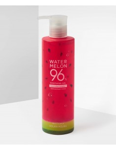 HOLIKA HOLIKA Gel Hydratant Apaisant Extraits de Pastèque Water Melon 96% Soothing Gel 390ml