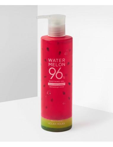 HOLIKA HOLIKA Gel Hydratant Apaisant Extraits de Pastèque Water Melon 96% Soothing Gel 390ml