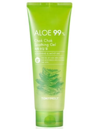 TONYMOLY Gel Réparateur Hydra Apaisant Aloe Chok Chok 99% Soothing Gel 250ml