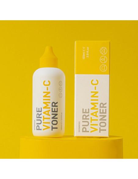SKINMISO C13.5% Lotion Tonique visage Révélateur Eclat Pure Vitamin-C Toner 100ml