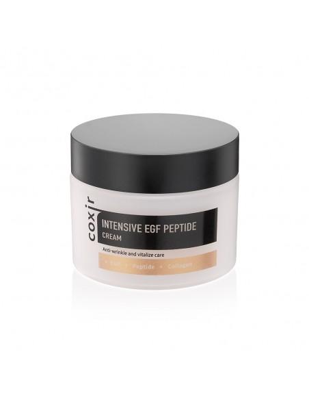 COXIR Crème visage Anti-âge Repulpant Fermeté Intensive EGF Peptide Cream 50ml
